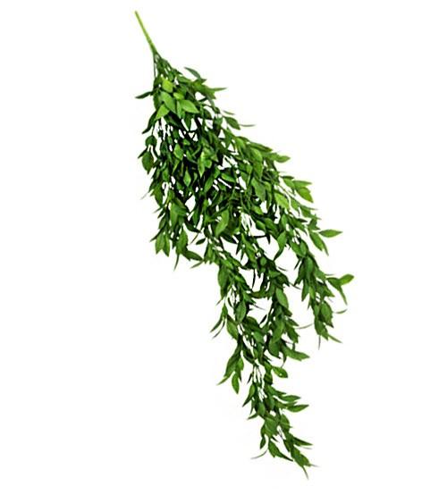 Kunststrauß mit grünen Weidenblättern - 80 cm