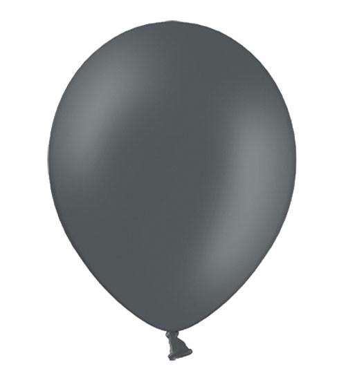 Standard-Luftballons - dunkelgrau - 10 Stück