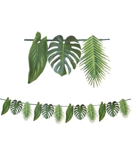 Motivgirlande Palmenblätter - 1,5 m
