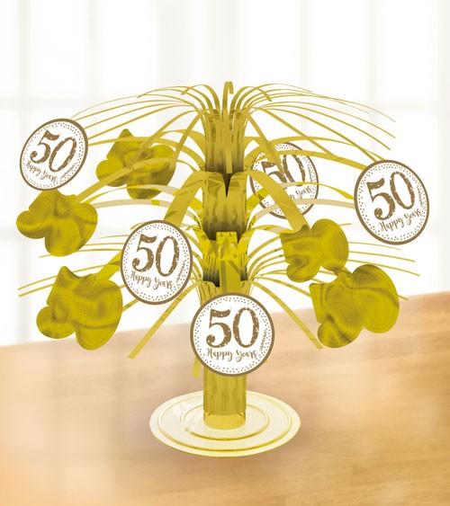 "Tischaufsteller ""50 Happy Years"" - 19 cm"
