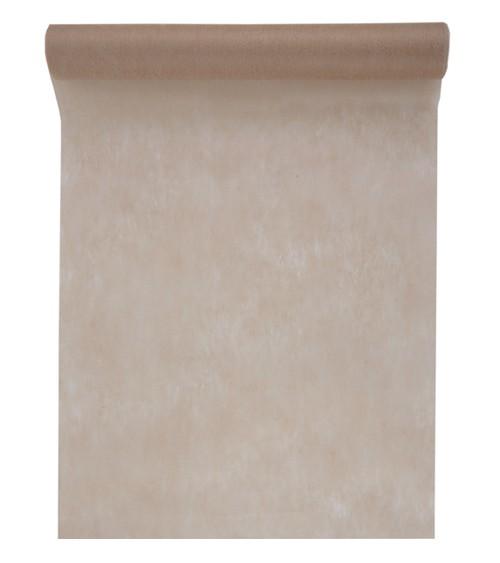 Tischläufer aus Vlies - taupe - 30 cm x 10 m