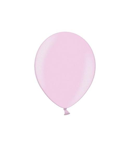 Mini-Luftballons - metallic candy pink - 12 cm - 100 Stück
